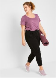 Pantaloni sportivi cropped in ECOVERO®  livello 1, bpc bonprix collection