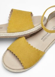 Espadrillas in pelle, bpc selection