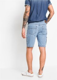 Bermuda cargo in jeans regular fit, John Baner JEANSWEAR