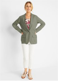 Blazer in misto lino loose fit, bpc bonprix collection