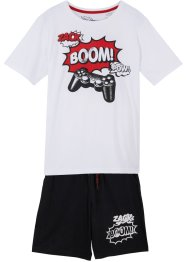 T-shirt e pantaloni (set 2 pezzi), bpc bonprix collection