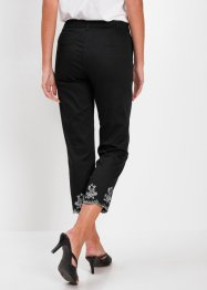 Pantaloni cropped con ricami, bpc selection