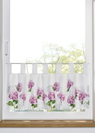 Tenda a vetro con stampa digitale a fiori, bpc living bonprix collection