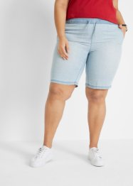 Bermuda in denim leggero con TENCEL® Lyocell e cinta comoda, bpc bonprix collection