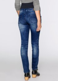 Jeans prémaman in look sdrucito skinny, bpc bonprix collection