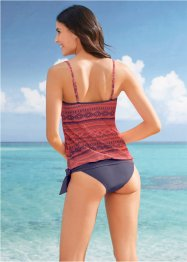 Tankini a fascia (set 2 pezzi), bpc bonprix collection