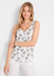 Top con bottoncini, bpc bonprix collection