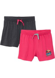Shorts in jersey (pacco da 2), bpc bonprix collection