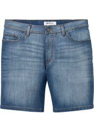 Shorts di jeans comfortstretch lunghi regular fit, John Baner JEANSWEAR