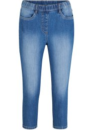 Jeans a pinocchietto con cinta comfort, bpc bonprix collection