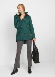 Parka con ecopelliccia, bpc bonprix collection