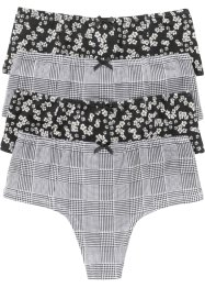 Panty perizoma (pacco da 4), bpc bonprix collection