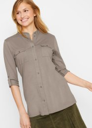 Camicia in maglina a maniche lunghe, bpc bonprix collection
