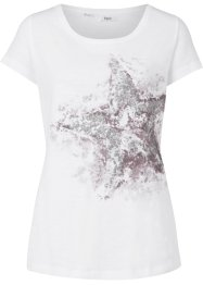T-shirt in filato fiammato, bpc bonprix collection