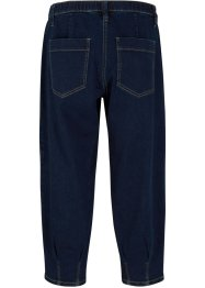 Jeans a pinocchietto con cinta comfort relaxed fit, bpc bonprix collection