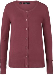 Cardigan in filato fine con bottoni, bpc bonprix collection