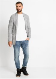 Cardigan con collo a scialle, RAINBOW