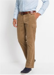 Pantaloni cargo in velluto regular fit, bpc selection