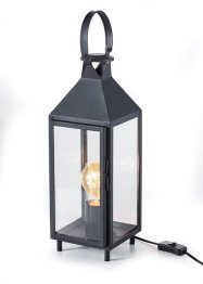Lampada da tavolo a forma di lanterna, bpc living bonprix collection