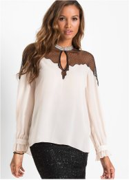 Blusa con pizzo, BODYFLIRT boutique
