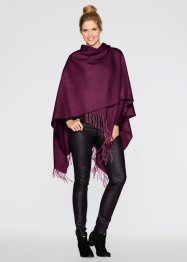 Poncho in tinta unita, bpc bonprix collection