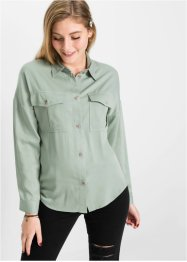 Camicia con tasche applicate, RAINBOW