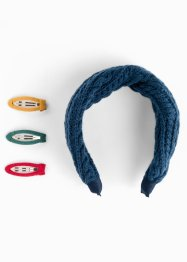 Accessori per capelli (set 4 pezzi), bpc bonprix collection