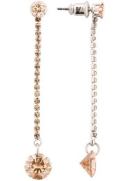 Orecchini con cristalli Swarovski®, bpc bonprix collection
