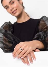 Anello con cristallo Swarovski®, bpc bonprix collection