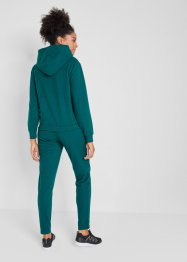 Pile con cappuccio e pantaloni in pile (set 2 pezzi), bpc bonprix collection