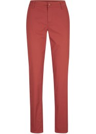 Pantaloni chino in cotone slim fit, bpc bonprix collection