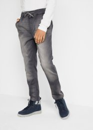 Jeans in felpa regular fit, John Baner JEANSWEAR