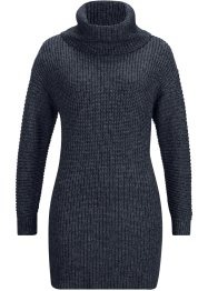 Maglione melange a collo alto, bpc bonprix collection