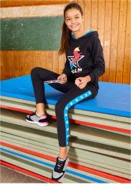 Felpa e leggings (set 2 pezzi), bpc bonprix collection