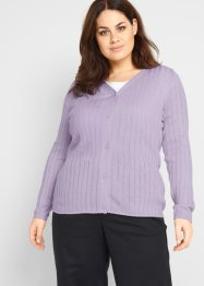 Cardigan a coste, bpc bonprix collection