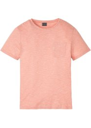 Moderna t-shirt basic con taschino slim fit, RAINBOW