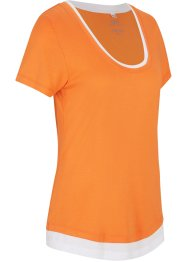 T-shirt sportiva 2 in 1, bpc bonprix collection