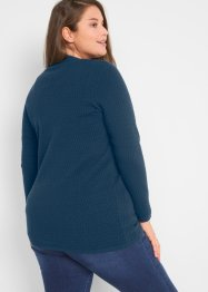 Cardigan in maglia traforata, bpc bonprix collection