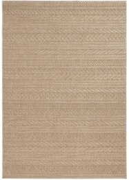 Tappeto da interno ed esterno a righe in look naturale, bpc living bonprix collection