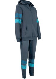 Completo da jogging (set 2 pezzi) in cotone biologico, bpc bonprix collection