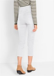 Jeans elasticizzati push-up cropped straight, bpc bonprix collection