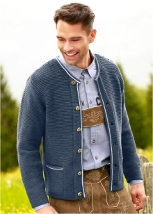 Cardigan tradizionale regular fit, bpc selection