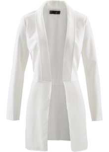 Giacca camicia 2 in 1, bpc selection, Bianco panna