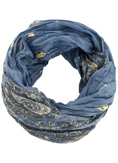 Sciarpina ad anello, bpc bonprix collection, Blu