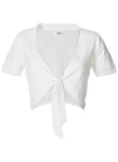 Bolero a manica corta, bpc bonprix collection