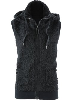 Gilet in pellicciotto di pile, bpc bonprix collection