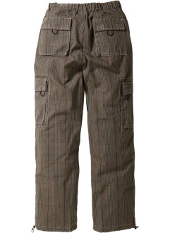 Pantalone cargo loose fit straight, bpc bonprix collection
