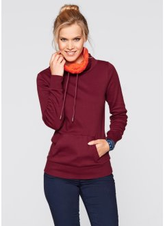 Pullover, bpc bonprix collection, Blu scuro / violetto
