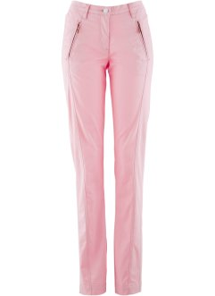 Pantaloni chino elasticizzati, bpc bonprix collection, Rosa cipria