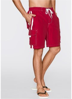 Bermuda regular fit, bpc bonprix collection, Rosso scuro